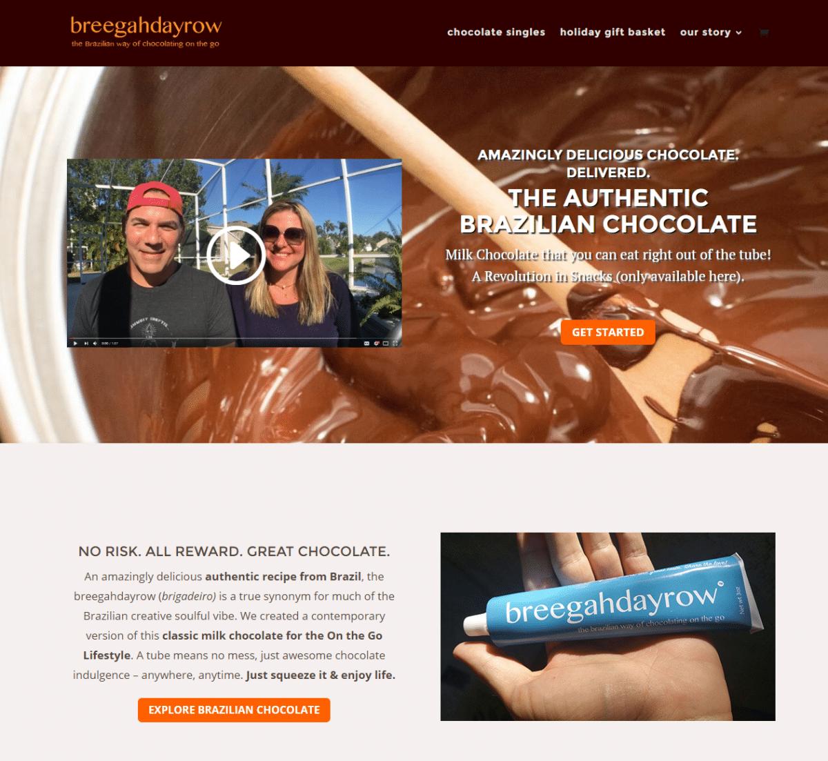 breegahdayrow™ chocolate a new way of enjoying brazilian chocolate