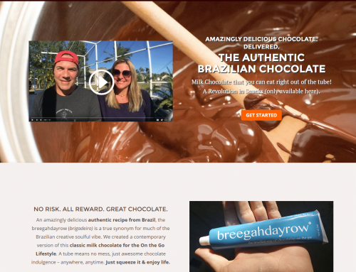 E-Commerce Store for Delicious Chocolate Startup