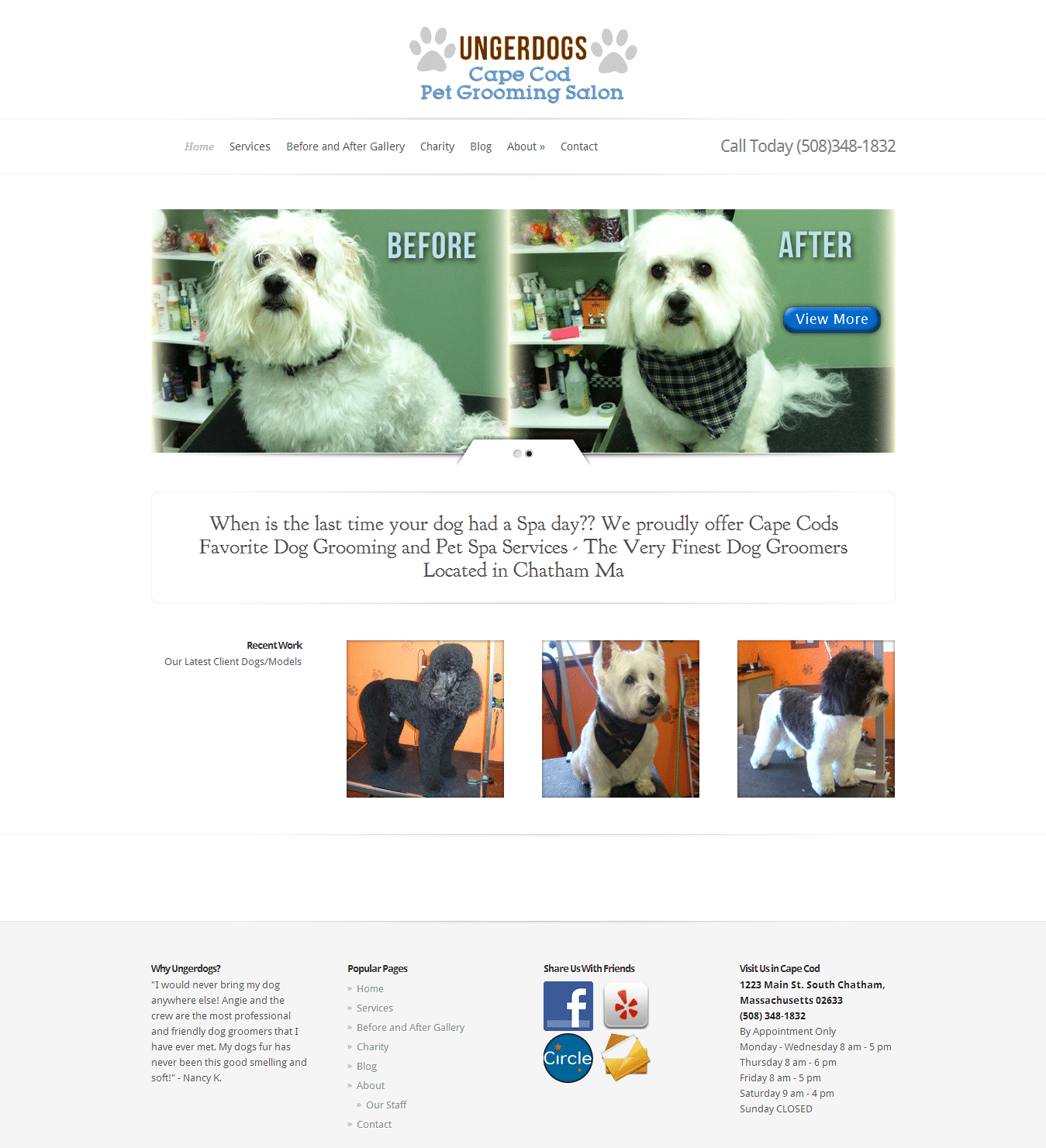 ungerdogs website