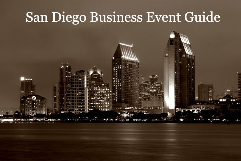 san diego business events